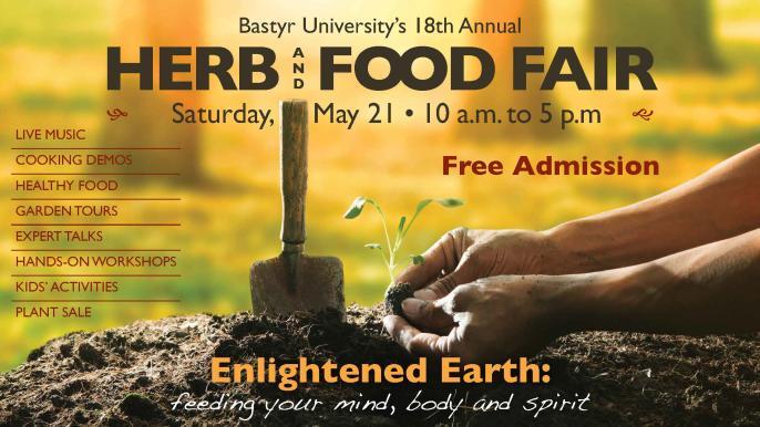 Bastyr University Herb and Food Fair 2016 flier