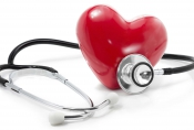heart with stethescope